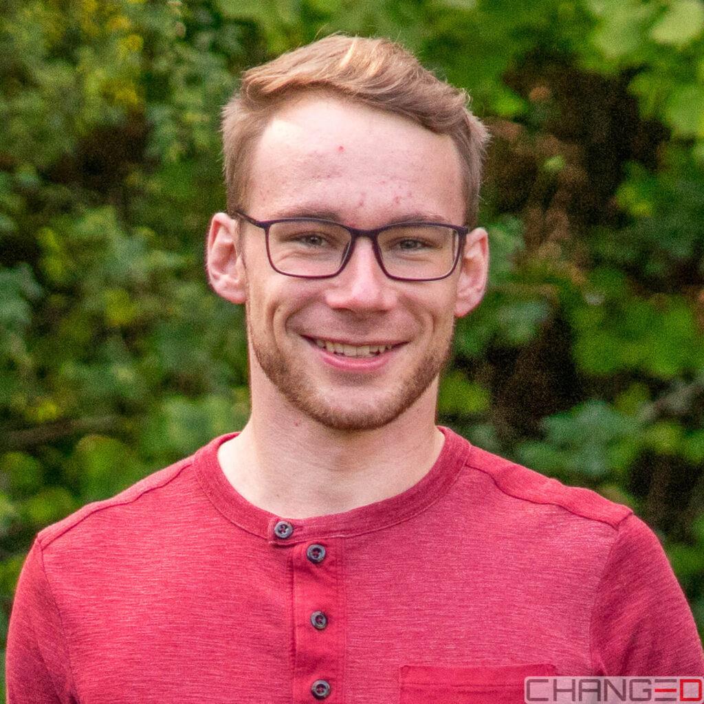 Markus Grimm, CEO der Firma CHANGE3D GmbH