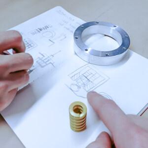 Kleines Symbolbild für die Dienstleistung Beratung im 3D Druck