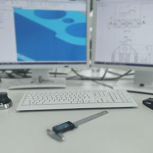 Kleines Symbolbild für die Dienstleistung Konstruktion im 3D Druck