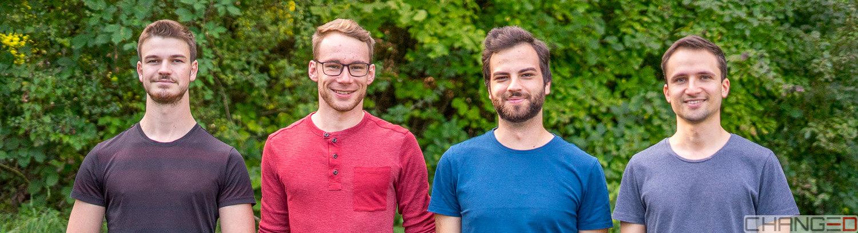 Das Team der Firma CHANGE3D GmbH