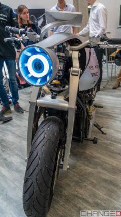 Das ethec Elektromotorad, entstanden aus dem Fokusprojekt der ETH