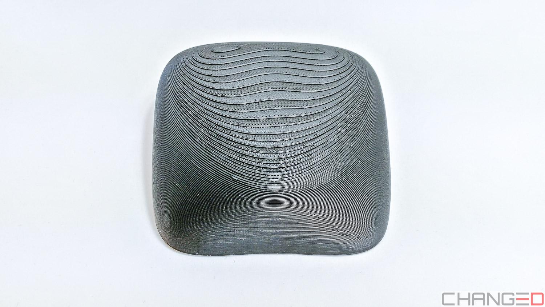Beispielbild für variable Schichthöhe für eine optisch ansprechende Oberfläche